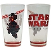 Disney Tumbler Glass - Star Wars Weekends 2012 Darth Maul Donald Duck
