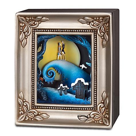 Disney Olszewski Gallery Of Light Figure Jack And Sally Embrace