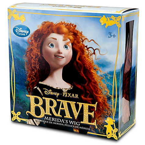 Disney Costume - Princess Wig - Merida Brave