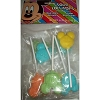 Disney Candy - Bag of SOUR LOLLIPOPS Mickey Mouse Faces