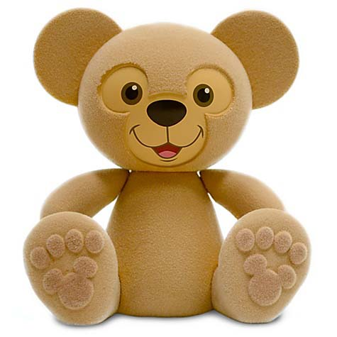 Disney vinylmation Figure - Duffy the Disney Bear - Flocked