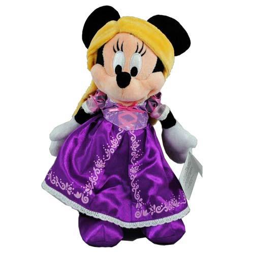 Disney Plush Minnie Mouse As Rapunzel