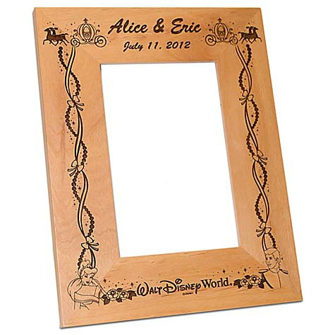Your WDW Store - Disney Picture Frame - Cinderella Wedding - by ...