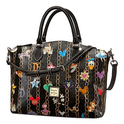 f4b88e18cf Disney Dooney   Bourke Bag - Charms Black - Satchel. Tap to expand