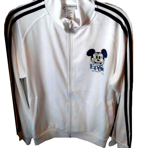 Disney Adult Jacket - One Mouse One World EPCOT Mickey Faces