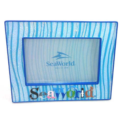 SeaWorld Picture Frame - Sea World Sea Life Animal Letters Logo