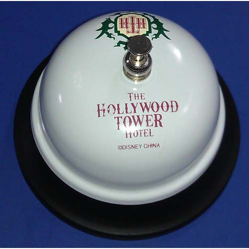 Disney Parks Hollywood Tower Hotel HTH Call Table Bell Disney Parks Exclusive /& Limited Availability 1 unit per order