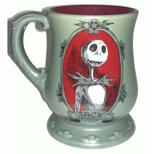 Disney Coffee Cup Mug Nightmare Before Christmas Jack