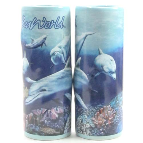 SeaWorld Tall Shooter Shot Glass - Dolphin Reef