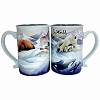 SeaWorld Coffee Cup - Arctic Blue Sea Life