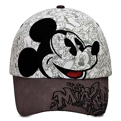Disney Baseball Cap Hat - Sketch Mickey Mouse. Tap to expand d7794e5f735