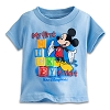 Disney Infant Shirt - My First Mickey Shirt Blocks