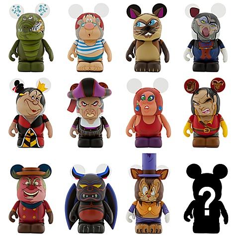Disney Vinylmation Figure Set Villains 3 Sealed Case