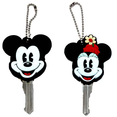your wdw store - disney key cover keychain keyring set