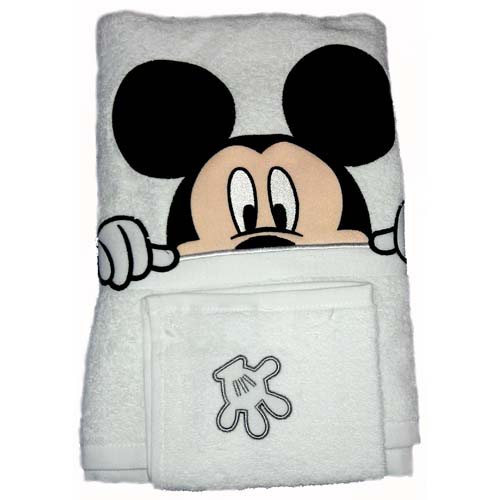 your wdw store - disney bath towel set - mickey mouse