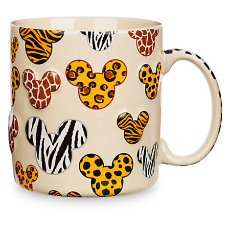 disney coffee cup mug animal print mickey icons