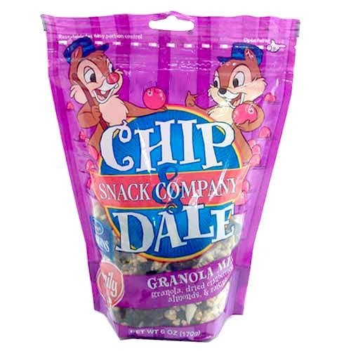 Disney Chip Dale Snack Co Granola Mix