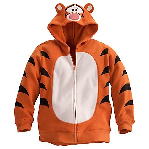 disney child hoodie tigger halloween costume fleece