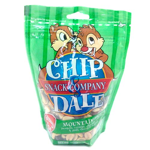 Disney Chip Dale Snack Co Mountain Mix