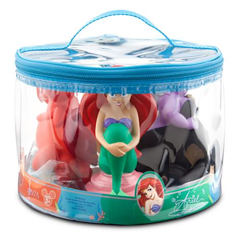 your wdw store disney bath toy set little mermaid