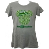 Disney LADIES Shirt - St Patrick's Day - Mickey Ears with Irish Derby