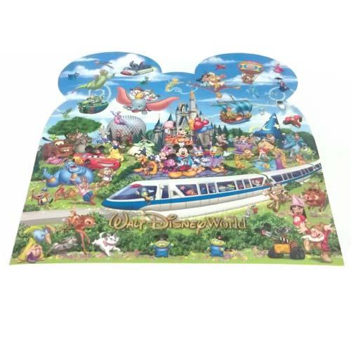Disney Postcard Mickey And Friends Storybook Walt Disney