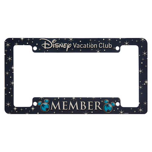 Your WDW Store - Disney License Plate Frame - Disney Vacation Club