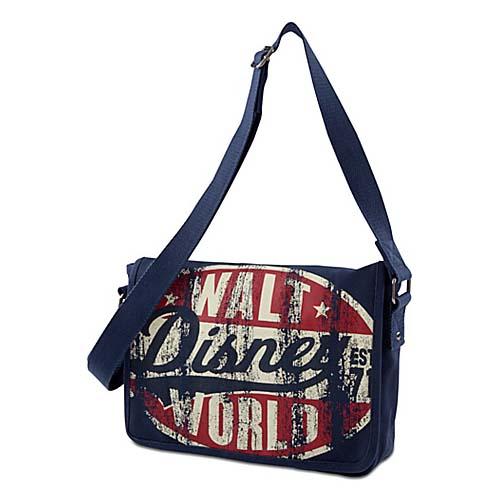 Disney Messenger Bag Walt Disney World Est 71 Tote