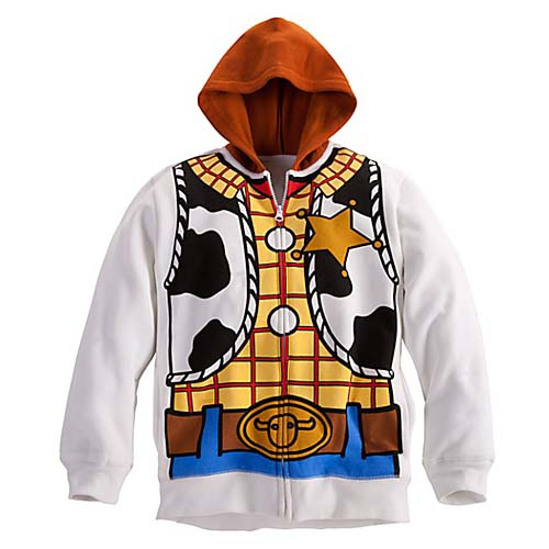 Disney CHILD Hoodie - Woody Halloween Costume Fleece  sc 1 st  Your WDW Store : woody child costume  - Germanpascual.Com