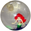 Disney Bouncy Ball - Glitter-Filled Water-Ball - Ariel