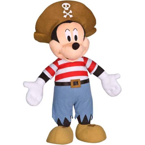 Disney Plush - Porch Greeter - Pirate Mickey Mouse