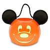 Disney Halloween Trick or Treat Pail - Mickey Mouse Light-Up Pumpkin