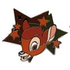 Disney Hidden Mickey Pin - 2012 Star Characters - Bambi