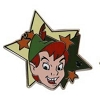 Disney Hidden Mickey Pin - 2012 Star Characters - Peter Pan