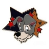 Disney Hidden Mickey Pin - 2012 Star Characters - Tramp
