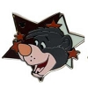 Disney Hidden Mickey Pin - 2012 Star Characters - Baloo