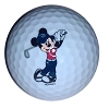 Disney Golf Ball - Mickey Mouse Golfing 1-pk