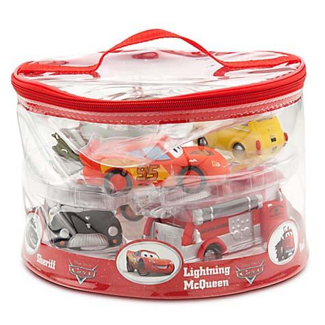 Disney Bath Toy Set Cars 2