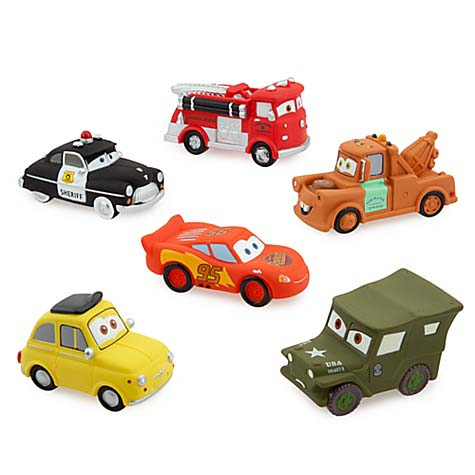 Add To My Lists Disney Bath Toy Set Cars 2
