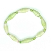 Disney EPCOT Recycled Paper Bracelet - Light Green - Long Thin Beads