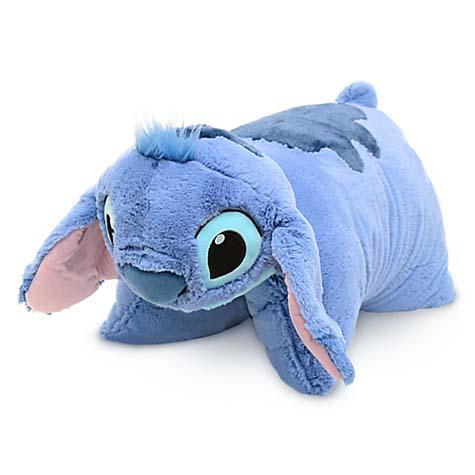 your wdw store disney pillow pet stitch reverse pillow plush 20