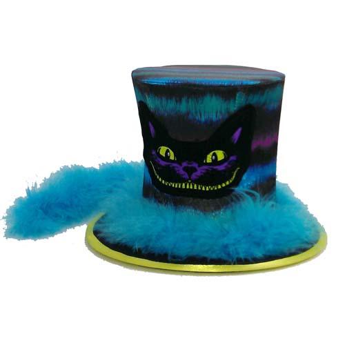 Disney Mini Top Hat - Alice in Wonderland Cheshire Cat - Boa 7ed3e4888d0d