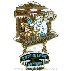 Disney Everest Pin - 1st Anniversary