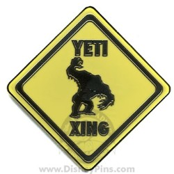 Disney Yeti Pin - Crossing