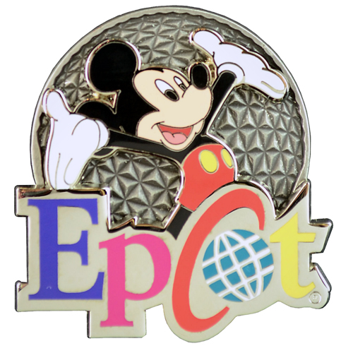 Disney Epcot Pin - Logo - Mickey Mouse