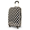 Disney Rolling Luggage - Black and White Mickey Mouse - 26