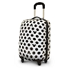 Disney Rolling Luggage - Black and White Mickey Mouse - 20