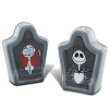 Disney Salt and Pepper Shakers - Sally and Jack Skellington