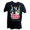 Disney Adult Shirt - Star Wars Weekends - Jedi Mickey Yoda Anakin