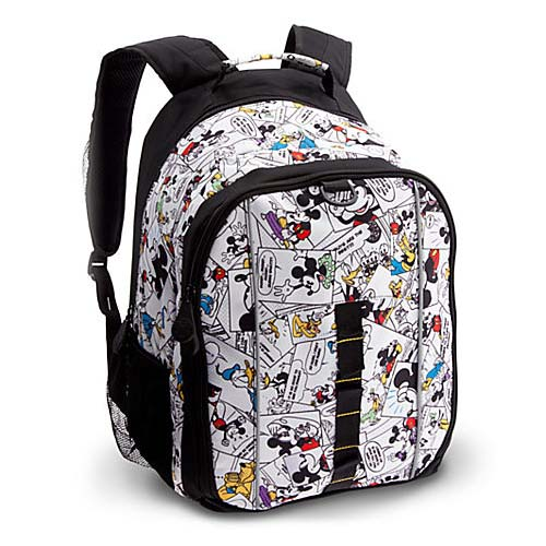 Disney Backpack Bag - Mickey Mouse Comic Strip 598289964d00c